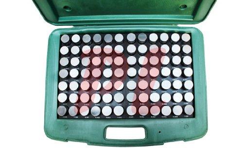 84 Pc M7 .917-1.000'' Steel Plug Pin Gage Set MINUS Pin Gauges Metal Gage Gauges