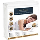 Royal Elegance Waterproof Bed Bug Proof Mattress Encasment - Hypoallergenic - Lifetime Warranty - QUEEN Size