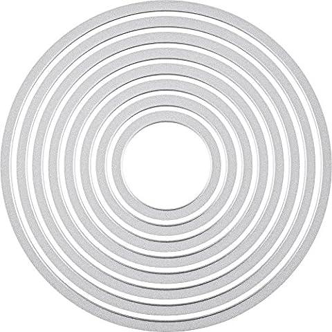 Sizzix Framelits Die Set 8/PK - Circles
