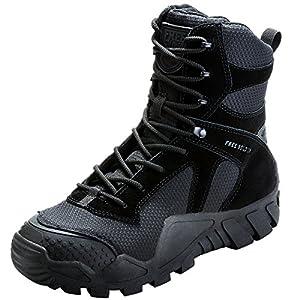 FREE SOLDIER Bottes de Chasse pour Hommes Bottes Militaires de Haut-Niveau Bottes Tactiques de Combat Chaussures à…