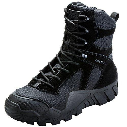 stivali di lavoro terrain colori combattimento SOLDIER impermeabili Black uomo top stivali escursionismo 3 high scarpe tattico con lacci militare da FREE all 7TqxwaPRw