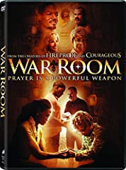 From the award-winning creators of Fireproof and Courageous comes War Room, a compelling drama with humor and heart that explores the power that prayer can have on marriages, parenting, careers, friendships, and every other area of our lives...