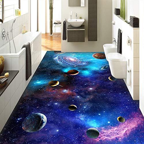 Custom Flooring Mural Wallpaper Lava Stone Magma 3D Stereoscopic Floor Sticker Painting PVC Self-Adhesive Waterproof Wallpaper,400X320Cm,Sykdybz