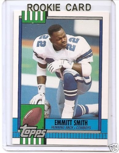 1990 Topps Emmitt Smith Rookie - Card Rookie Smith