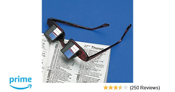 Men's Reading Glasses Popular Lazy Man Glasses Horizontal Type Reflective Glasses Practical Lied To Watch Tv Newspaper Periscope
