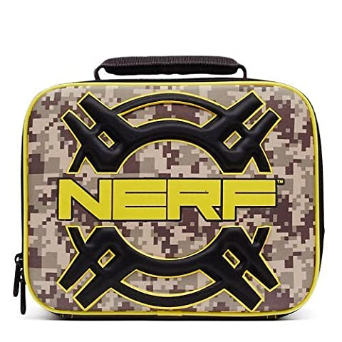 NERF Camouflage Print Insulated Lunch Box (Ghost Busters 12 Inch)