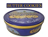 Sherwood DANISH DELIGHTS Butter Cookies, In A Nice Gifting Tin, Box 32 Oz - Great For Any Occasion