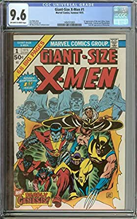 GIANT-SIZE X-MEN #1 CGC 9.6 OW/WH PAGES