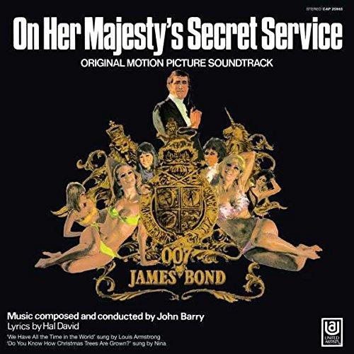 On Her Majesty's Secret Service (James Bond Soundtrack) [LP]