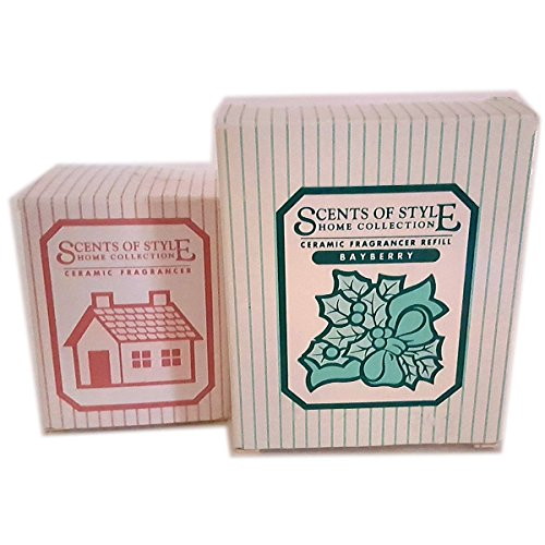 Avon 1993 Scents of Style Home Collection Ceramic Fragrancer Plus (1) Refill - Bayberry