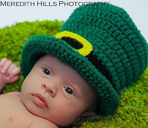 Amazon.com  St Patrick s Day Leprechaun Top Hat Baby Hat Photo Prop ... 03dfec1c7f0
