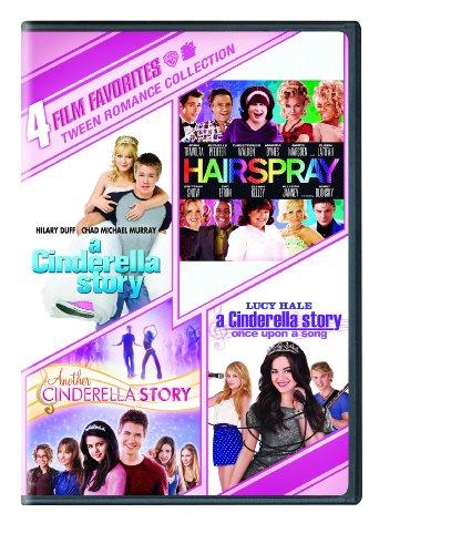 4 Film Favorites: Tween Romance (Hairspray, Cinderella Story, Cinderella Story 2, Cinderella Story: Once Upon a Song) by Warner Home Video