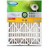 BestAir HW2025-8R Furnace Filter, 20 x 25 x 4, Honeywell Replacement, MERV 8