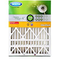 BestAir HW2025-8R Furnace Filter, 20 x 25 x 4, Honeywell Replacement, MERV 8
