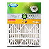 BestAir HW2025-8R Furnace Filter, 20'' x 25'' x 4'', Honeywell Replacement, MERV 8