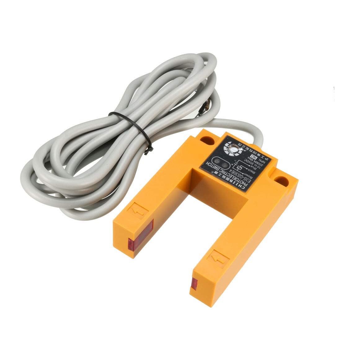 Dc 3 Wire 6 36v Pnp Ir Photoelectric Sensor Switch 30cm Proximity Wiring Diagram Further E18 B03p1 Home Improvement