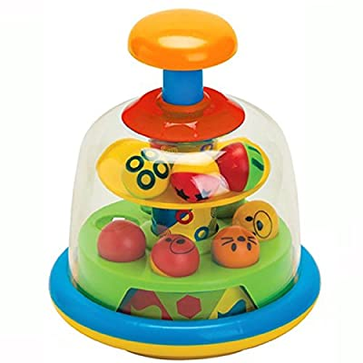 Fun Time Spinning Popping Pals (Color May Vary) : Toys & Games [5Bkhe1107282]