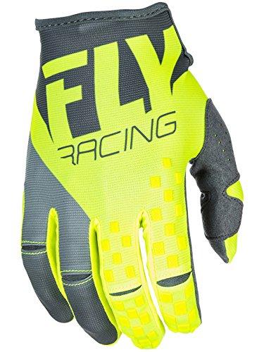 Fly Racing Grey-Hi-Vis 2018 Kinetic Era Mx Gloves (L , Grey)