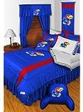 NCAA Kansas Jayhawks - 5pc BED IN A BAG - Queen Bedding Set
