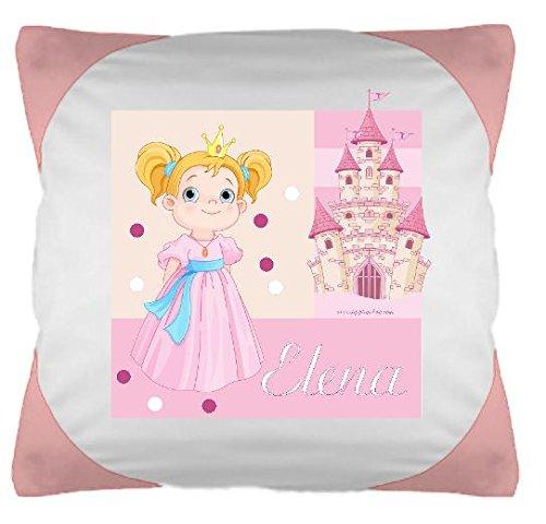 TTS Kissen bunt Prinzessin mit Wunschbeschriftung