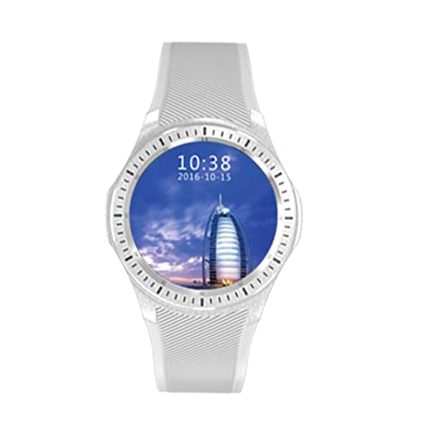 Reloj inteligente, Bluetooth SmartWatch deporte Fitness reloj con ...