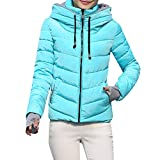 StyleV-shirts 2018 Women Hooded Coat Thick Outerwear Short Slim Cotton-Padded Jackets Coats
