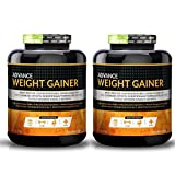 Advance Nutratech Weight Gainer chocolate 12 Lbs. Chocolate(Pack of 2x6lbs ) …