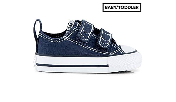 Converse BabyToddler Chuck Taylor 2V OX Shoe Athletic Navy