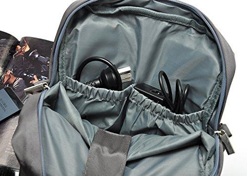 De entrenamiento para hombre Zarapack de Crucifijo para máquina de troquelar incluye tarjetero ordenador portátil de funda de transporte para lote de bolsa de - azul