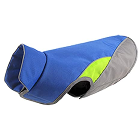 TYJY Chaleco Reflectante para Perros Grandes Ropa Impermeable para ...