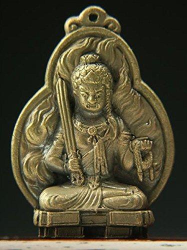 [Tiny Buddha statue (small) zodiac Mamorihonzon / Acala (42mm)New From Japan] (Pocahontas Movie Costume)