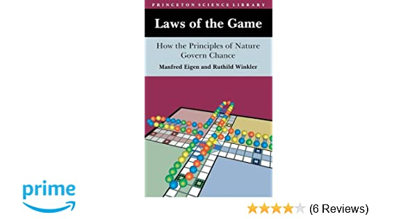 Amazon com: Laws of the Game : How the Principles of Nature