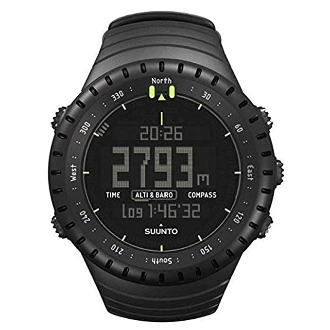 Amazon.com: SUUNTO Core All Black Military Mens Outdoor Sports Watch - SS014279010: Suunto: Sports & Outdoors