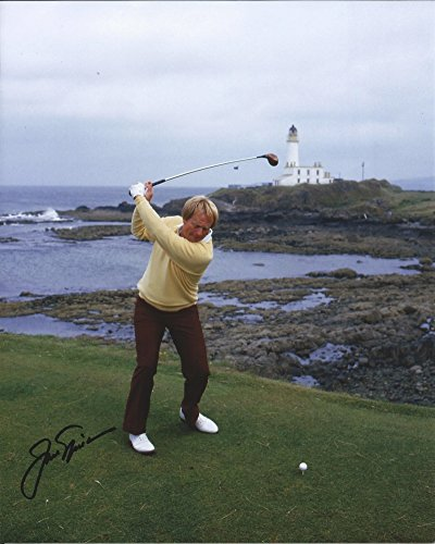 (Jack Nicklaus Hand Signed / Autographed 8 x 10 Photo -)