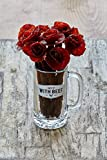 Beef Jerky Rose Broquet with Mug (Mixed, Dozen)