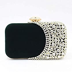 Women's Sparkling Sequin Crystal Rhinestone Clutch