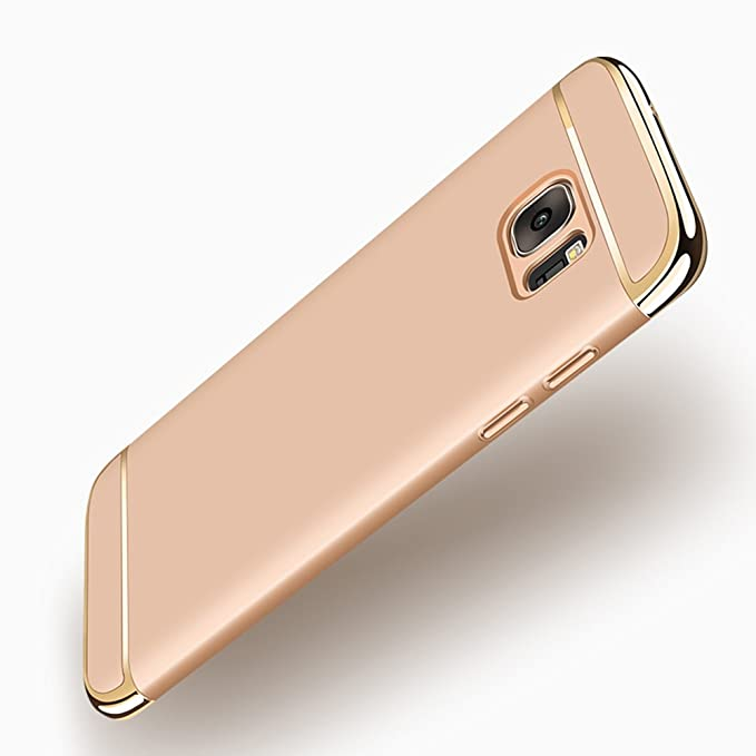 2 opinioni per Galaxy S7 Edge Case, Heyqie Ultra Thin Full Protection Anti-Scratch Shockproof