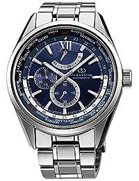 ORIENT watch ORIENTSTAR World Time Automatic navy blue WZ0041JC Men