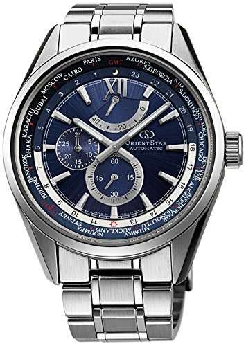 ORIENT watch ORIENTSTAR World Time Automatic navy blue WZ0041JC Men