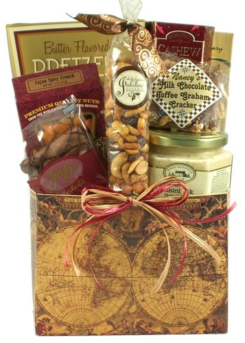 You're World Class, Thank You Gift Basket - Great for Father's Day (Deliverable Gift Baskets)
