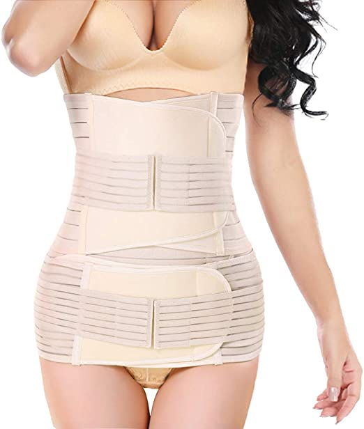 Cotton y Band Postpartum Support Recovery Belt Girdle Belly Binder