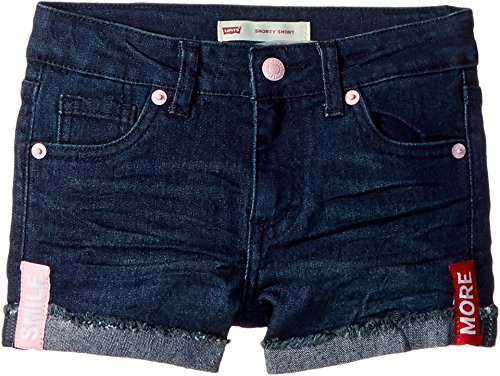 - Levi's Girls' Denim Shorty Shorts