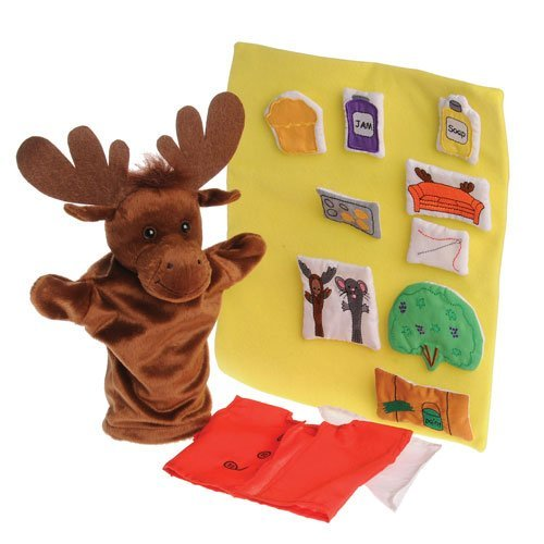 Moose Hand Puppet - 9