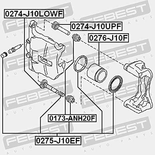 Febest FRONT BRAKE CALIPER REPAIR KIT 0275-J10EF