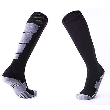 Oyamihin 1 par de Calcetines Deportivos Antideslizantes de fútbol Calcetines de Hombre Calcetín de fútbol por