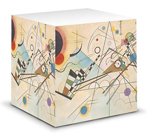 - Kandinsky Composition 8 Sticky Note Cube