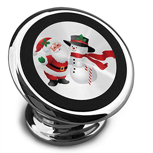 Clipart Snowman - Baerg Universal Magnetic Phone Car Mounts Magnet Holder Cute Christmas Clipart Snowman Magnetic Mount for Phone 360° Rotation