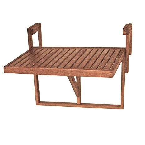 Harms Table Suspendue Pour Balcon 100 Fsc Eucalyptus Huile