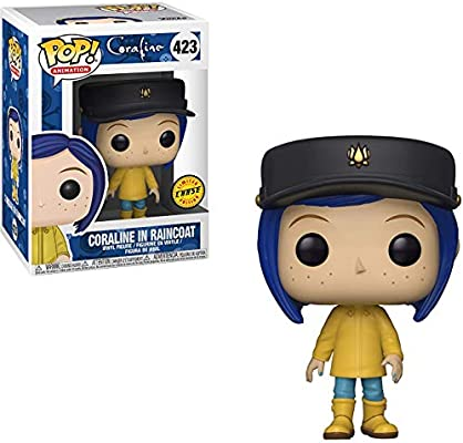 Coraline in Raincoat with #423 LIMITED CHASE EDITION Funko POP Movies Coraline