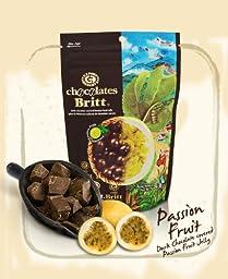 Cafe Britt Dark Chocolate Covered Passion Fruit